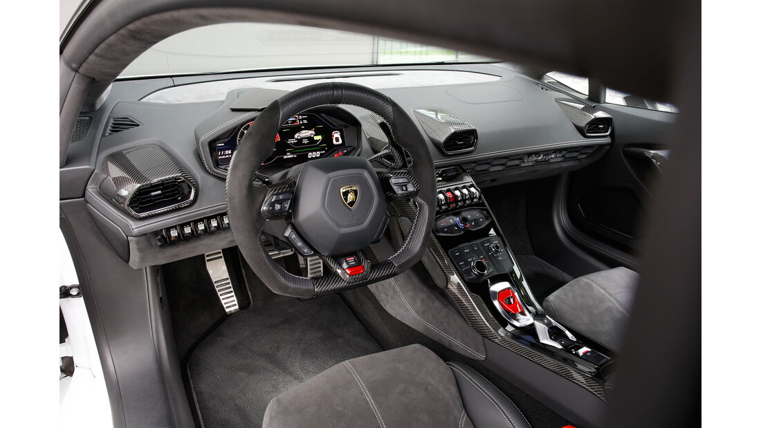 VOS-Performance-Lamborghini-Huracán LP 610-4, Cockpit