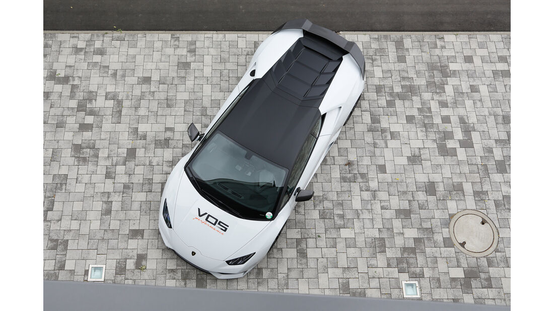 VOS-Performance-Lamborghini-Huracán LP 610-4, Draufsicht