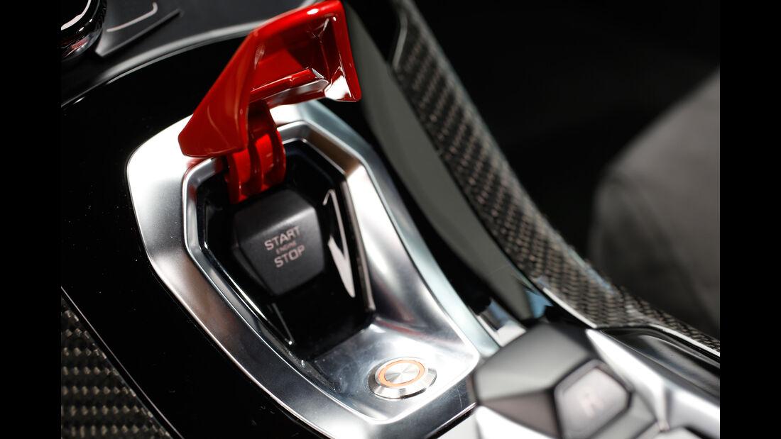 VOS-Performance-Lamborghini-Huracán LP 610-4, Startknopf