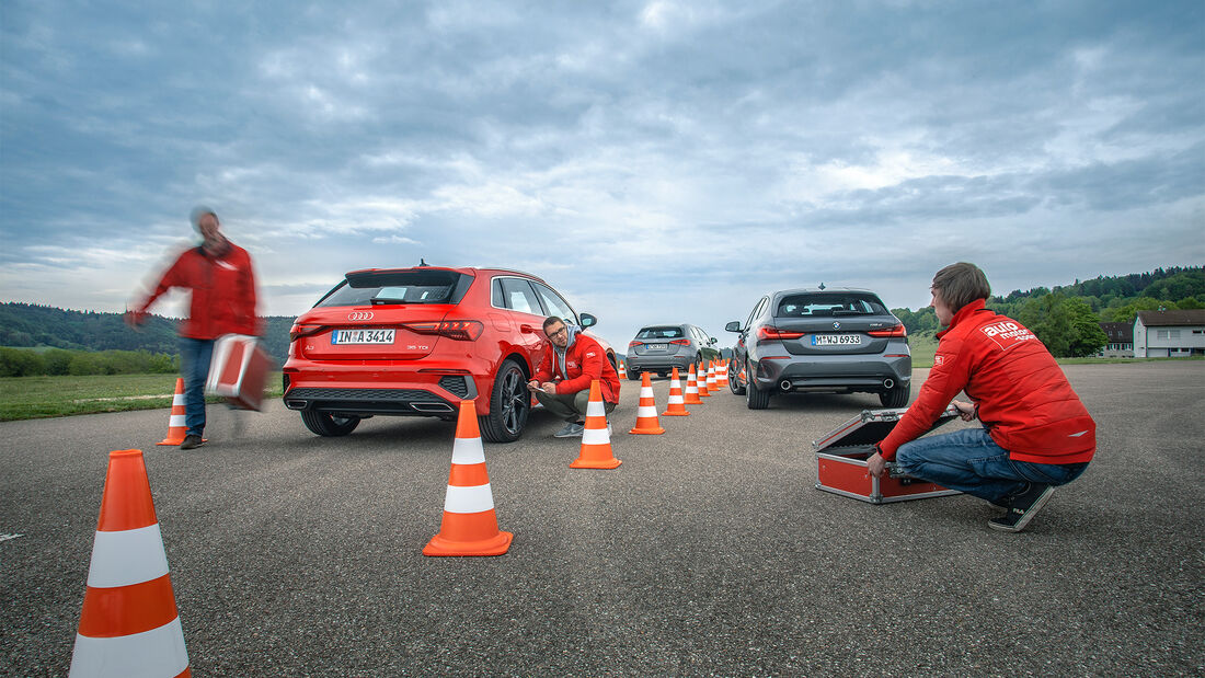 VT, Audi A3, Mercedes A 200 d, BMW118d