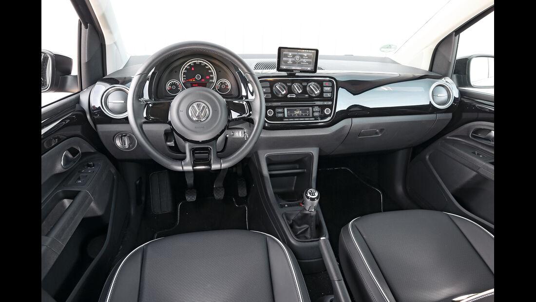 VW 1.0 high up, Cockpit