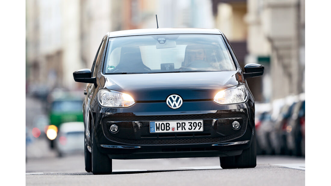 VW 1.0 high up, Frontansicht
