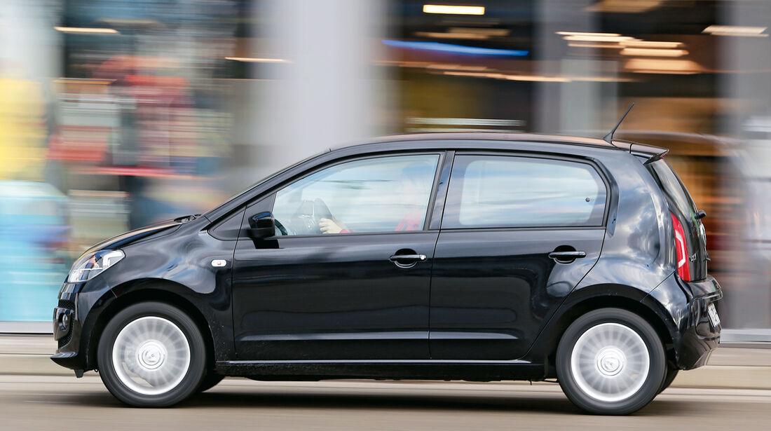 VW 1.0 high up, Seitenansicht