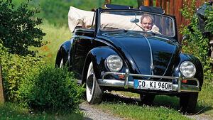 VW 1200 Cabrio, Frontansicht