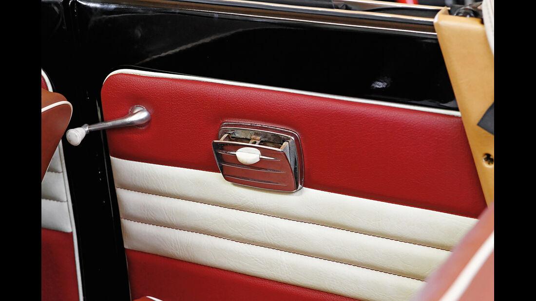 VW 1200 Cabrio, Innenverkleidung, Tür