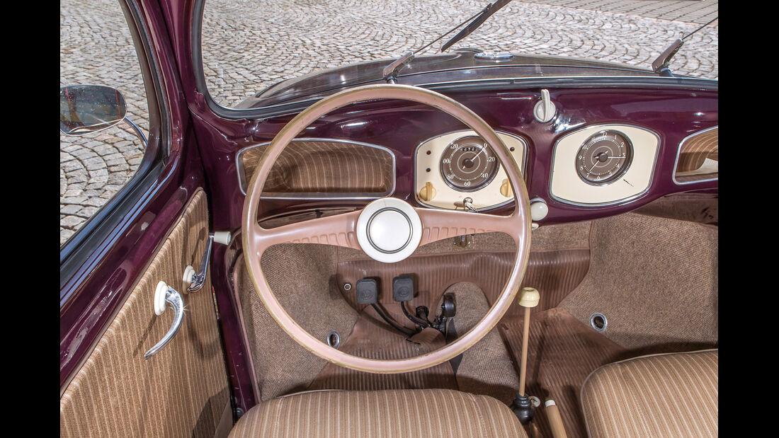 VW 1200, Cockpit