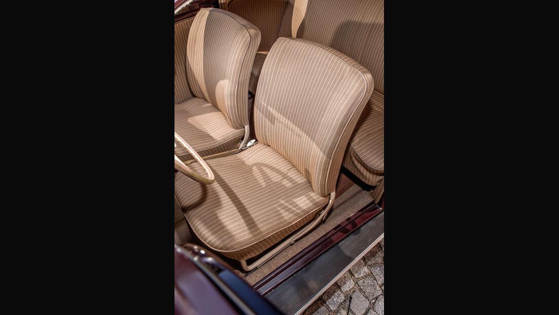 VW 1200, Fahrersitz