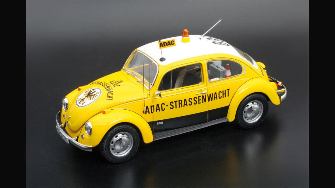 VW 1200 Käfer ADAC Straßenwacht im Maßstab 1:18
