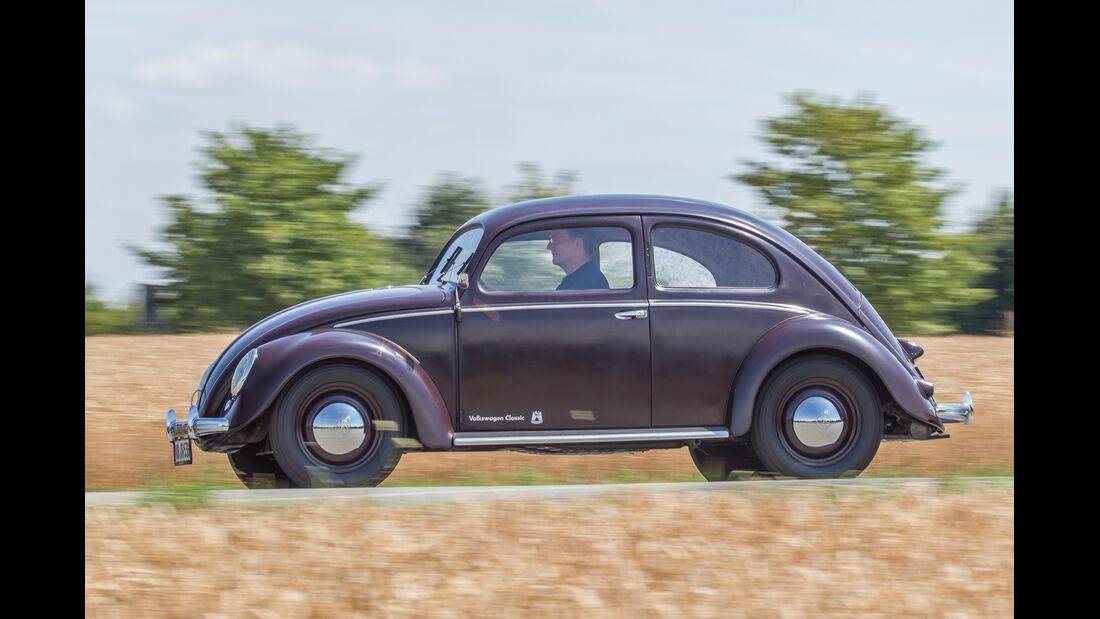VW 1200, Seitenansicht