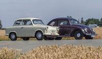 VW 1200, Trabant P, Seitenansicht