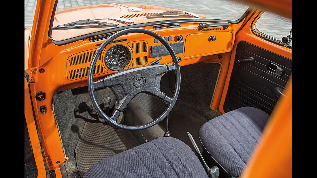 VW 1302, Cockpit