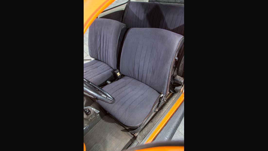 VW 1302, Fahrersitz