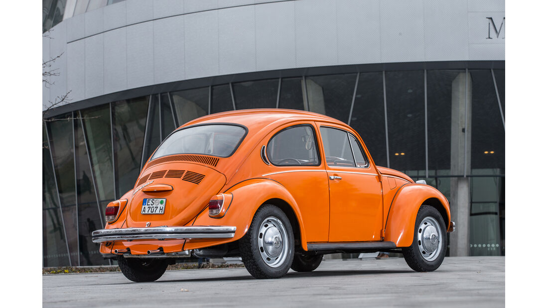 VW 1302, Heckansicht