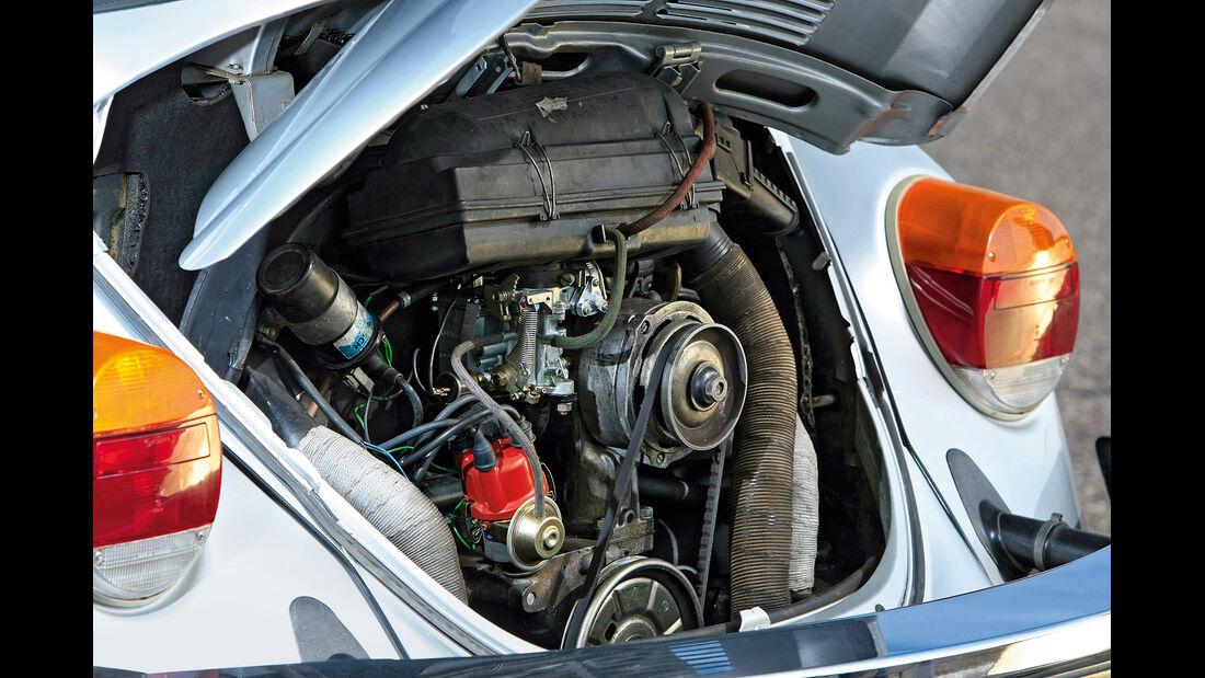 VW 1303 Cabriolet Motorraum