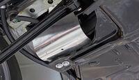 VW 1303 Rallye, Detail, Getriebe-Aufhängung