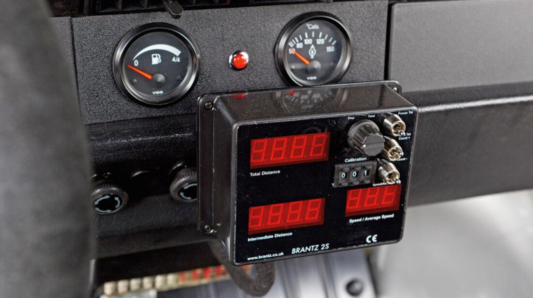VW 1303 Rallye, Detail, Trip-Messgerät