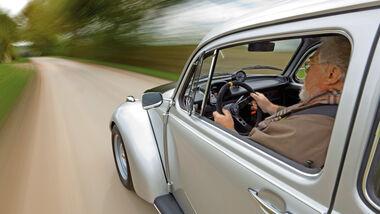 VW 1303 Rallye, Seite, Fahrer