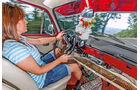 VW 1600 Typ 3, Cockpit, Mandy Opfermann