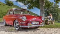 VW 1600 Typ 3, Frontansicht, Mandy Opfermann