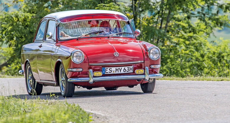 VW 1600 Typ 3, Frontansicht