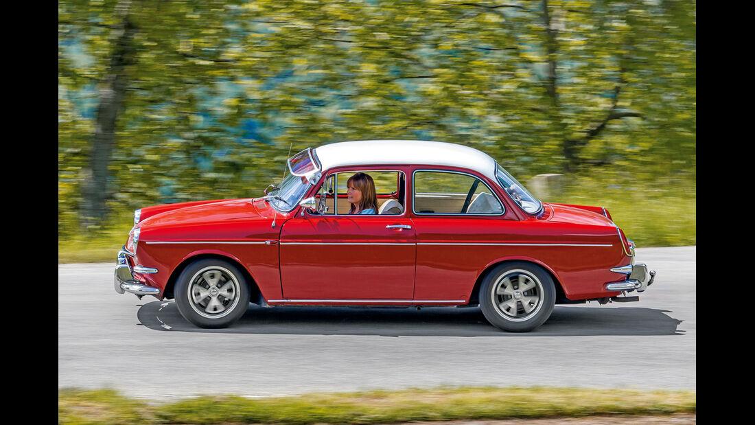 VW 1600 Typ 3, Seitenansicht