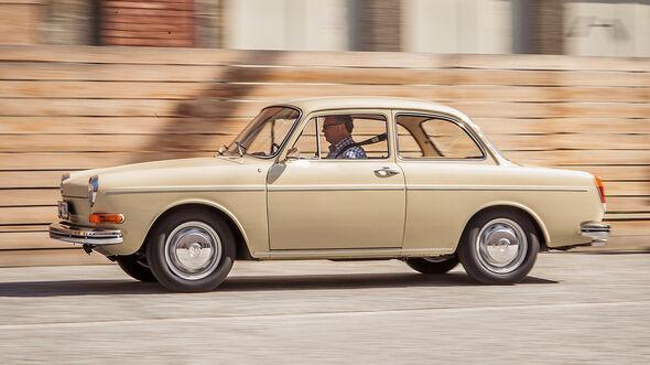 VW 1600, Typ 3, Seitenansicht