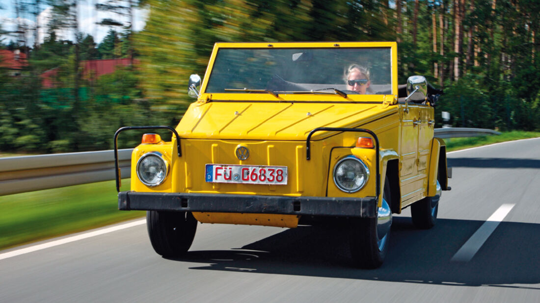 VW 181 - Fahraufnahme
