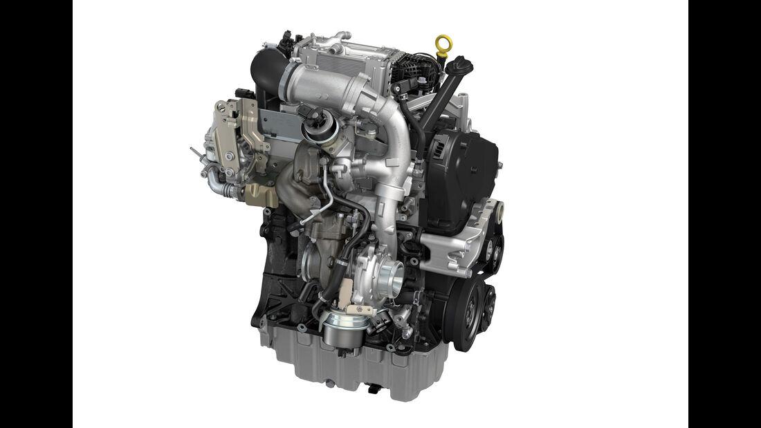 VW 2.0 TDI Biturbo Abgasseite
