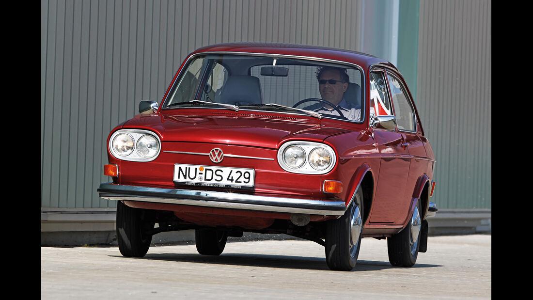 VW 411/412, Frontansicht