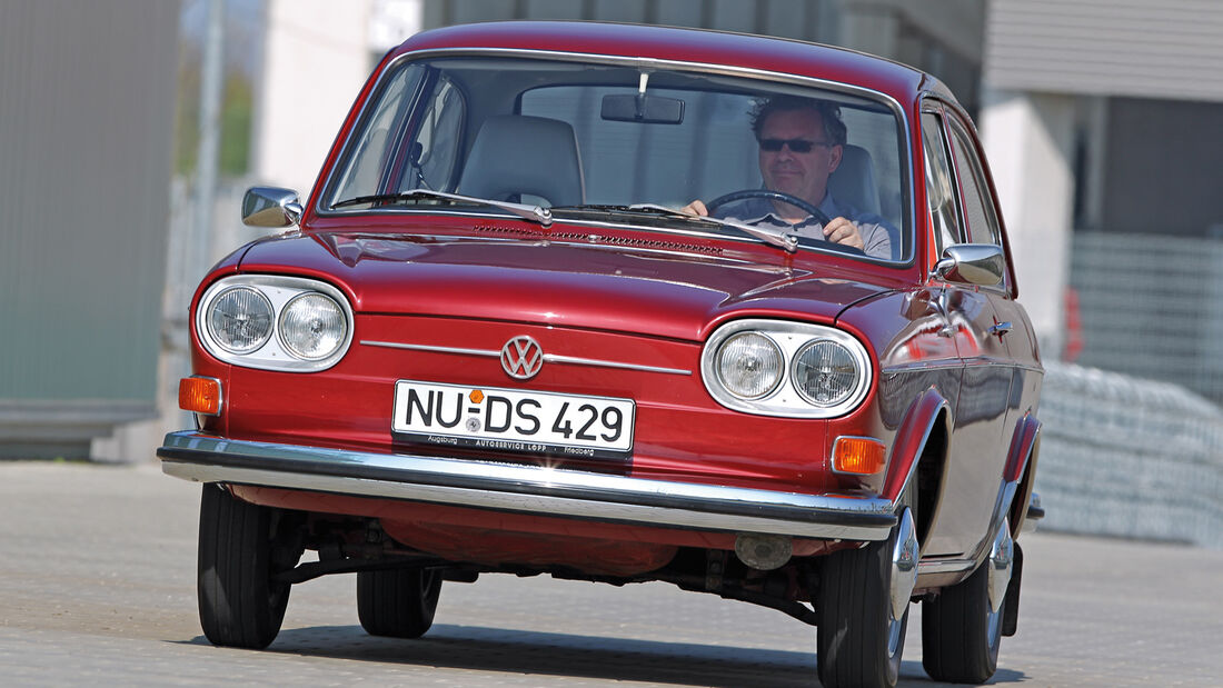 VW 411/412, TYP 4, Frontansicht