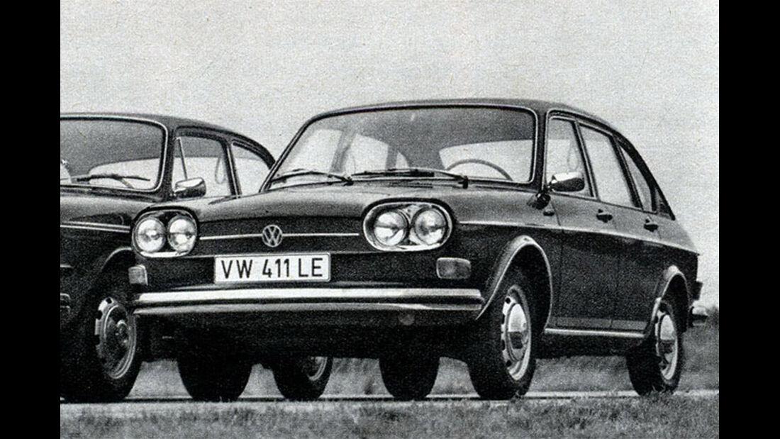 VW, 411 E, IAA 1969