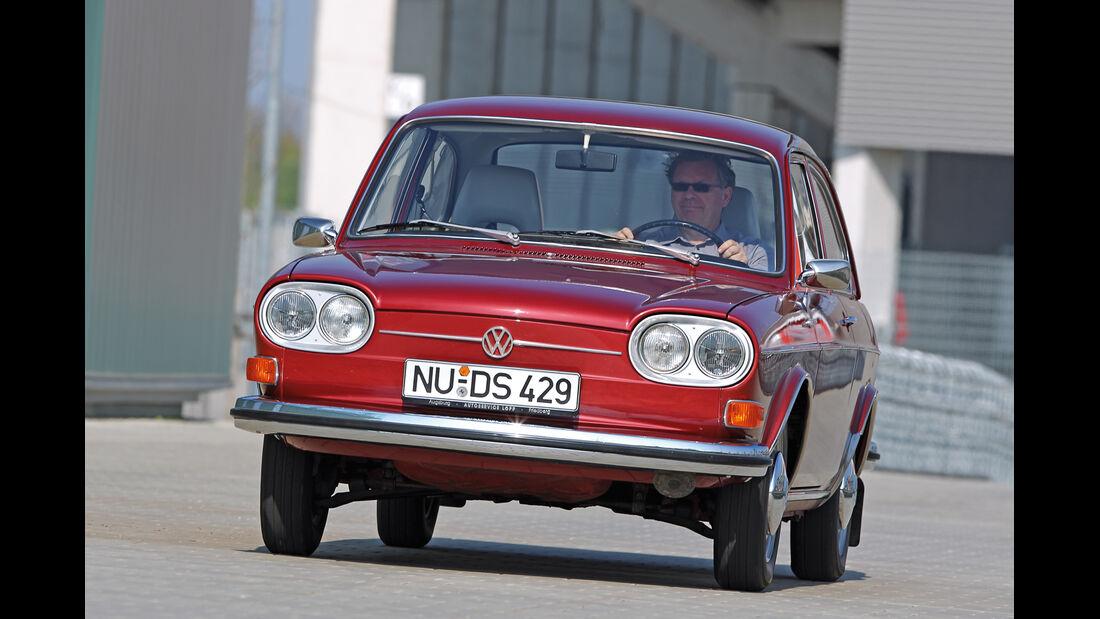 VW 411 LE, Frontansicht