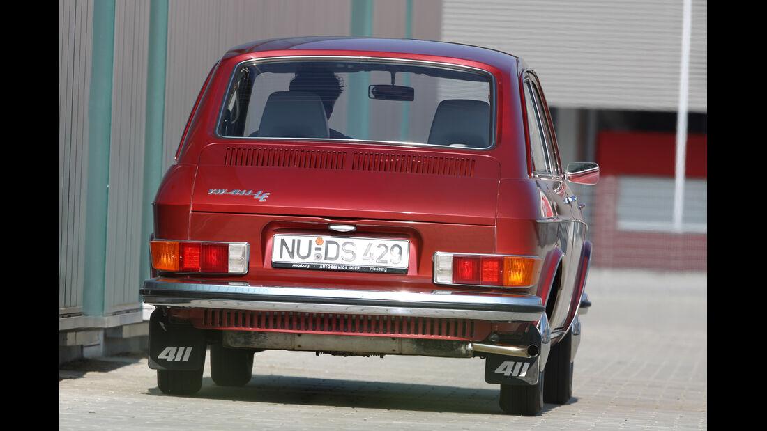 VW 411 LE, Heckansicht