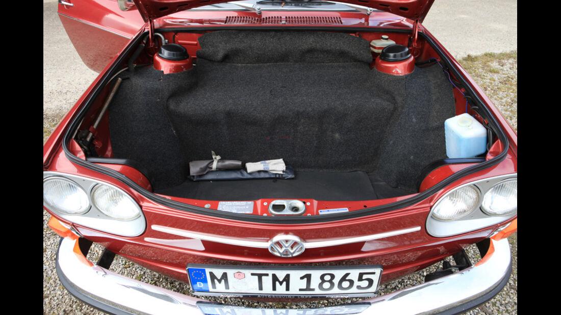 VW 411 LE, Kofferraum