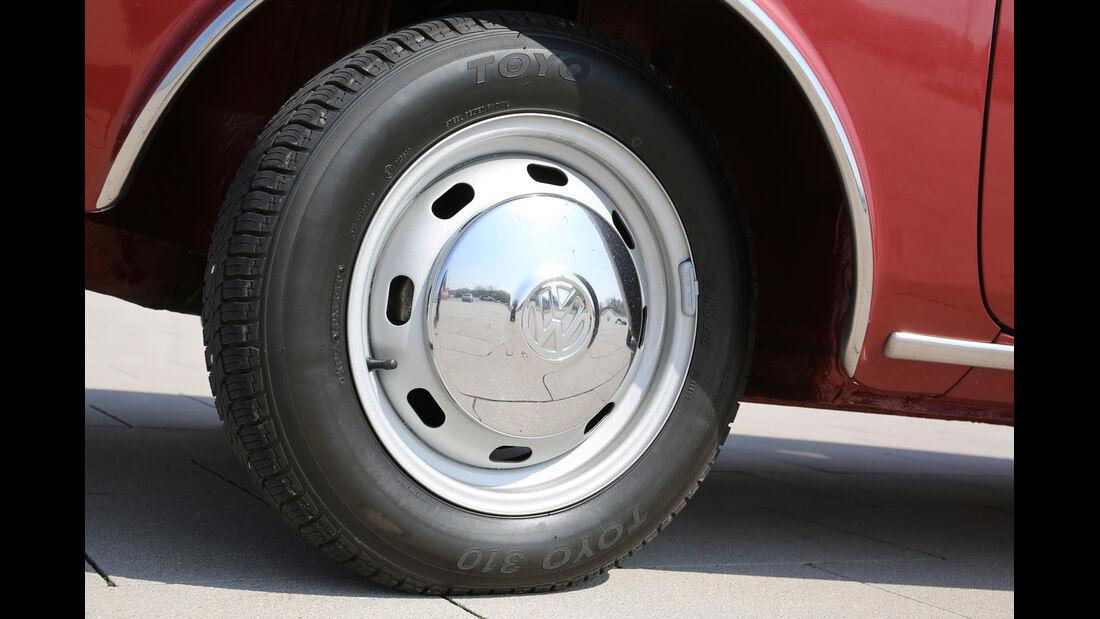 VW 411 LE, Rad, Felge