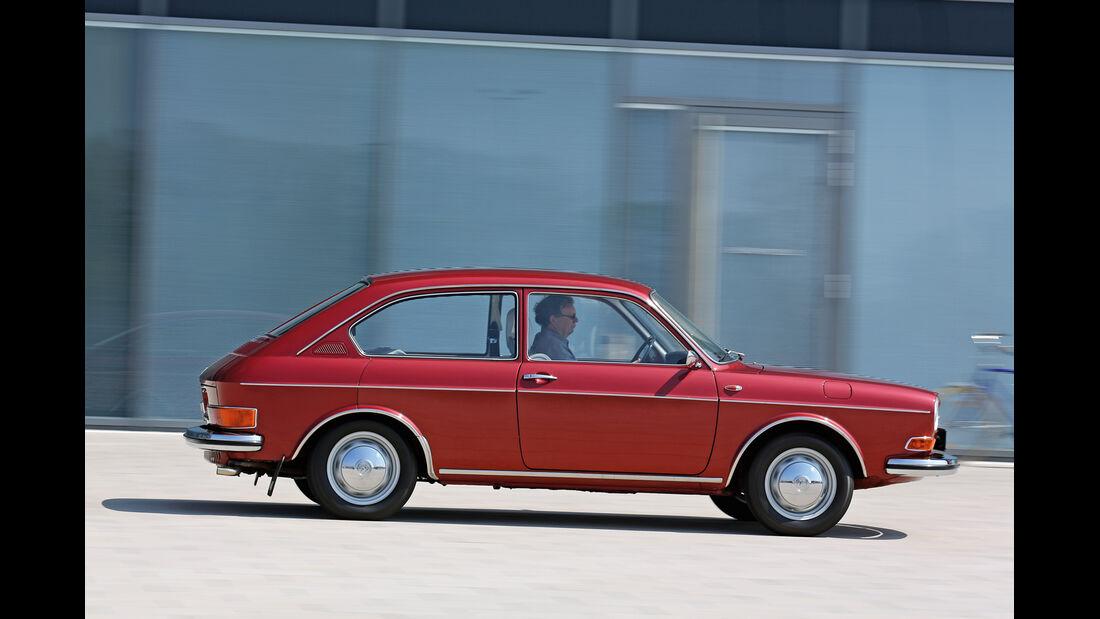 VW 411 LE, Seitenansicht