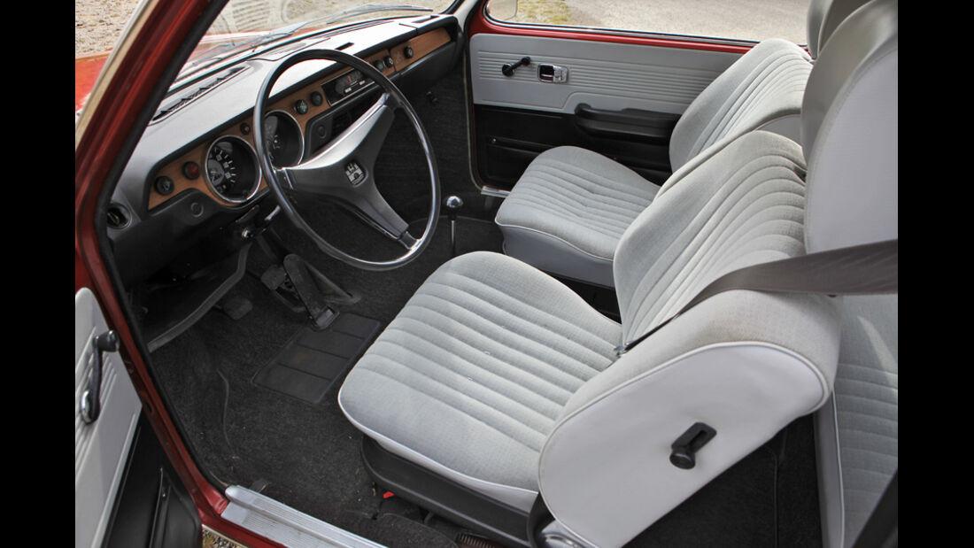 VW 411 LE, Sitze