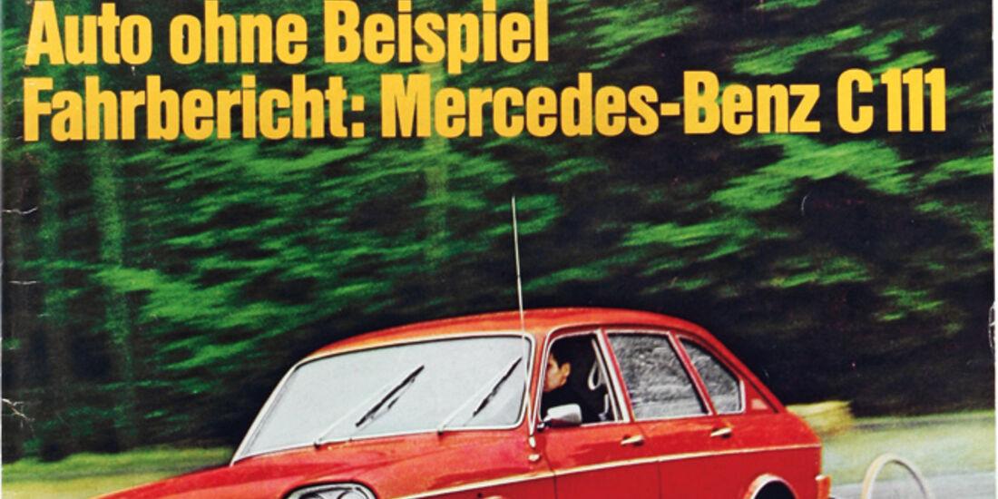 VW 411 LE, auto motor und sport-Titel 1969