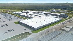 VW Akku Entwicklungs- und Prüfzentrum Chattanooga