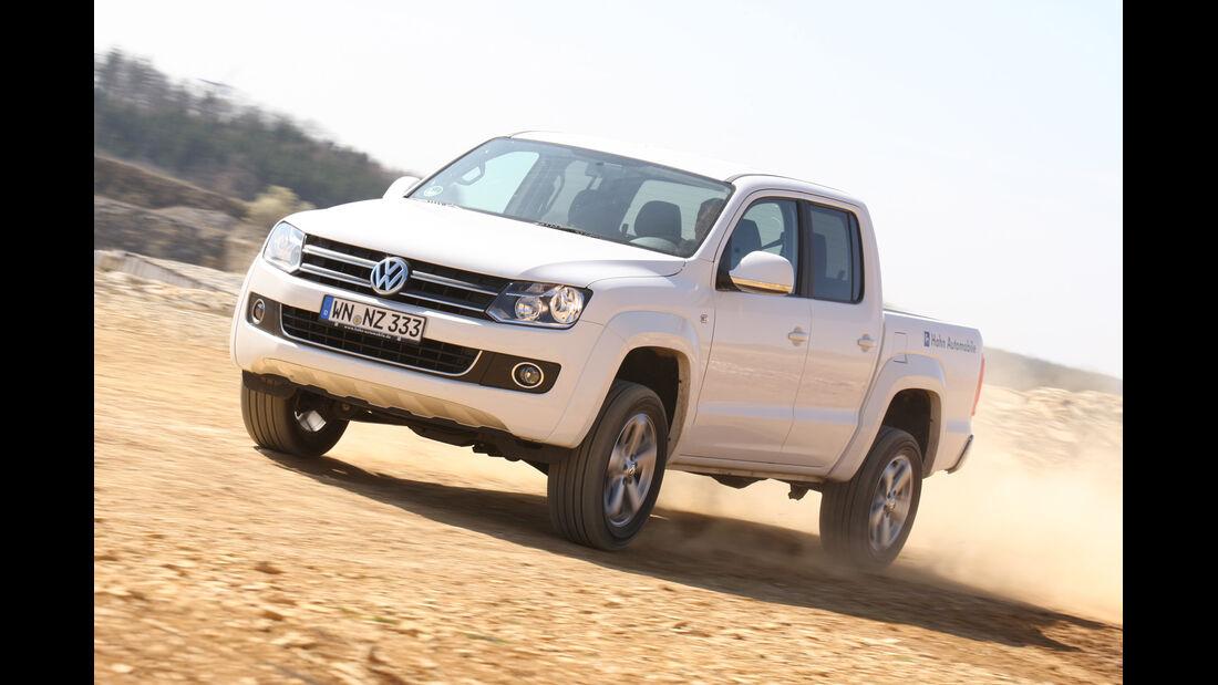 VW Amarok 2.0 BiTDI Highline, Seitenansicht