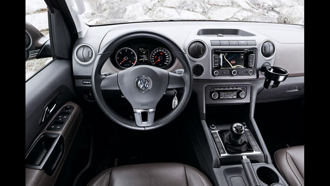 VW Amarok 2.0 TDI 4Motion Innenraum