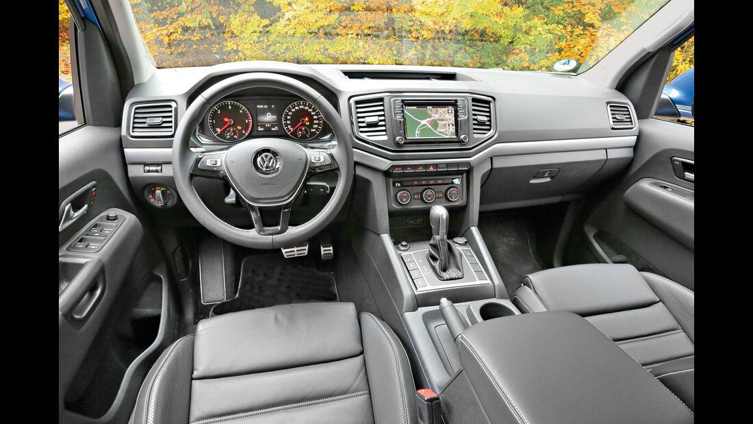 VW Amarok 3.0 TDI, Cockpit