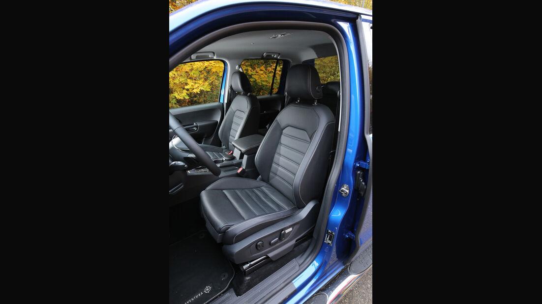 VW Amarok 3.0 TDI, Fahrersitz