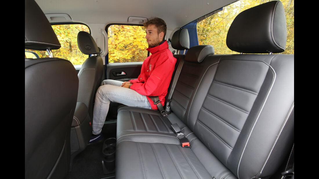 VW Amarok 3.0 TDI, Fondsitze