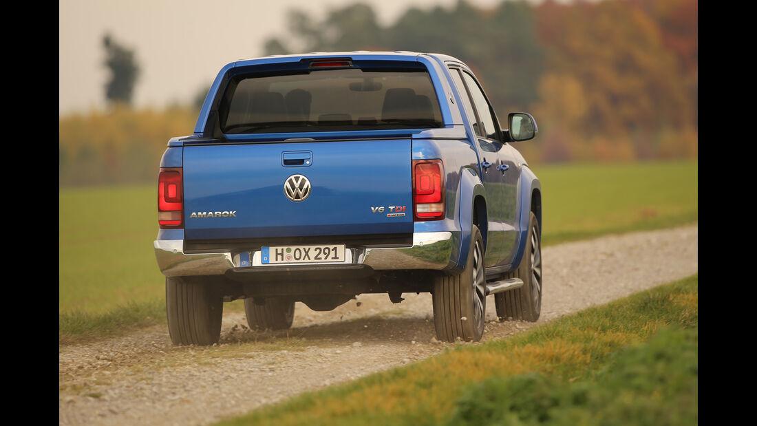 VW Amarok 3.0 TDI, Heckansicht