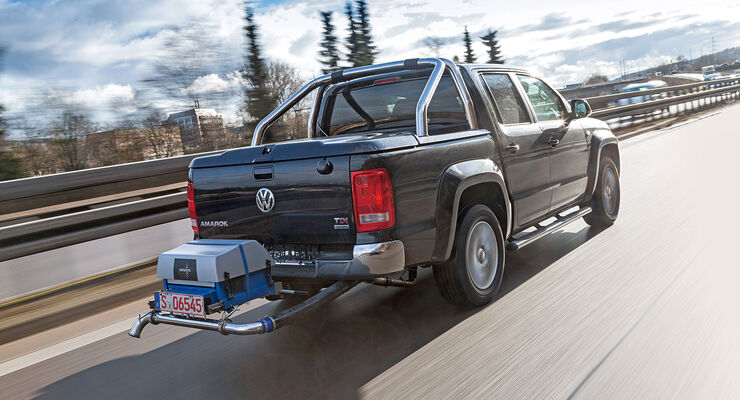 VW Amarok Abgastest