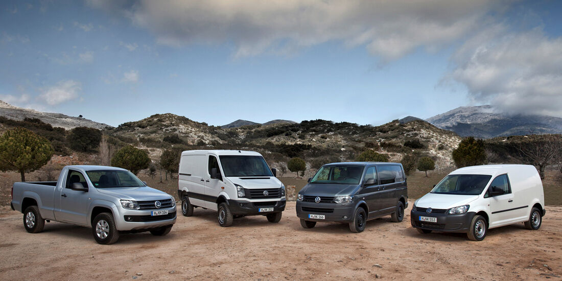 VW Amarok, Caddy, Transporter, IAA Nutzfahrzeuge 2012