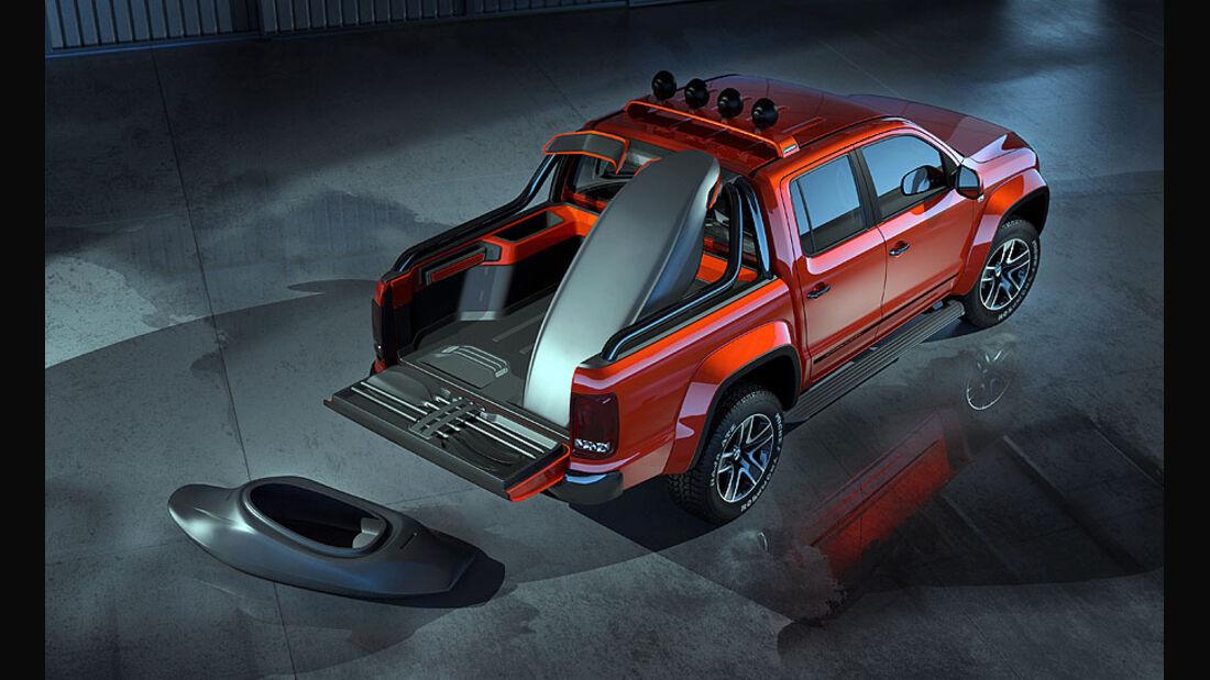 VW Amarok Canyon Autosalon Genf 2012
