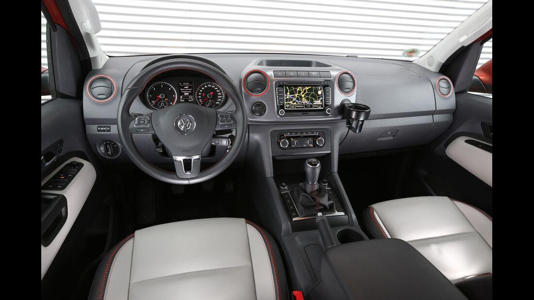 VW Amarok Canyon, Cockpit