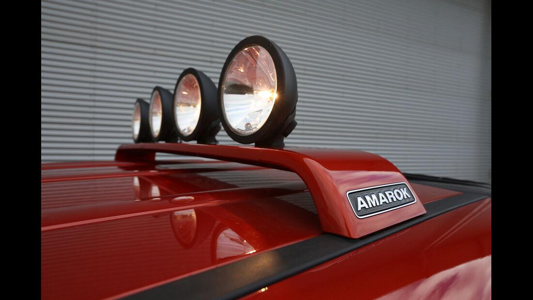 VW Amarok Canyon, Dachscheinwerfer